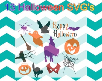 13 Halloween Svg files