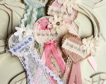 Bride to Be Badge / Rosette for Hen Party