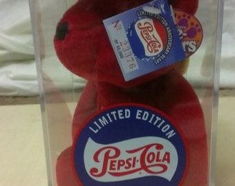 Limited Edition Wild Cherry Pepsi Bear