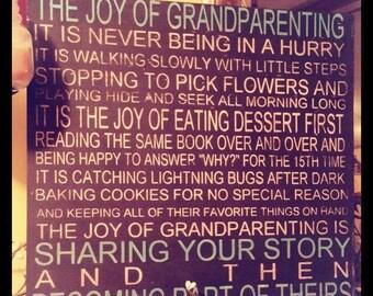 The Joy of Grandparenting