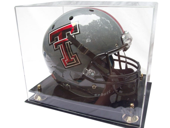 Full Size Football Helmet Display Case by BetterDisplayCases