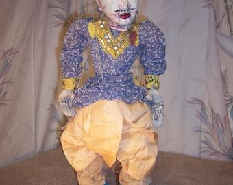 Large Antique Burmese Marionette Puppet