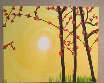 Yellow/Red Tree