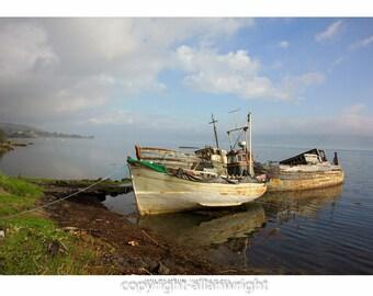 Three Old Drifters, Salen, Isle of Mull