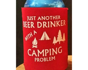 Personalized Camping Can Cooler