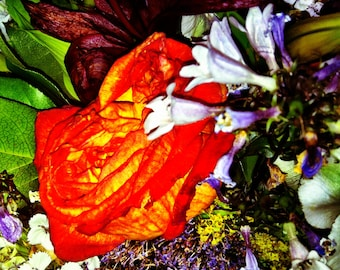 "ART SIMONE ART CARDS ""FLOWERS"""