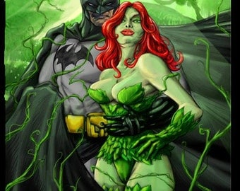 Batman Poison Ivy original poster