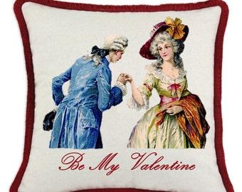 Vintage Valentine Pillow