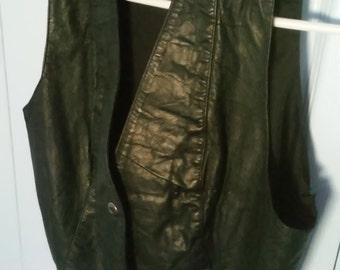 Michelles leather vest