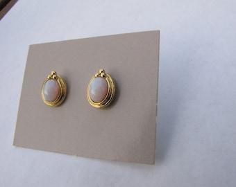 1989 Avon Radiant Opalesque Earrings NIB