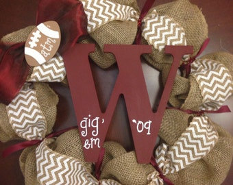 Custom Aggie Wreath