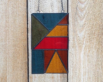 Simple Stained Glass Mini Panel