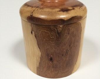 Mesquite lidded box