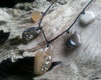 Agate Beach Pebble Neckpiece