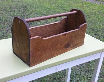 Pine Tote with oak handle