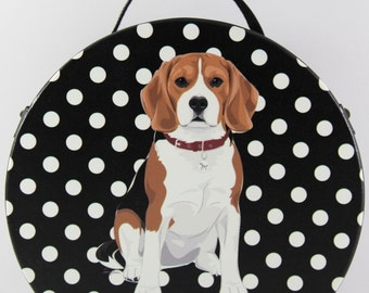 Beagle Round Bag (Small)