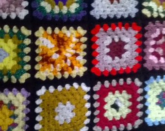 Afghan by Eunice - 62 inches by 68 inches - Finished July 16, 2015