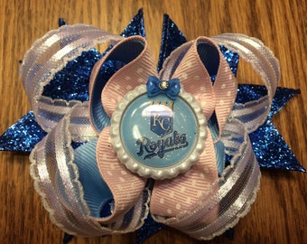 Kansas City Royals Hair Bow