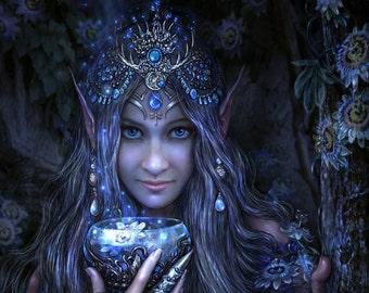 SEA PRIESTESS PERFUME* Botanical Natural Perfume* Daytime Ritual & Gypsy Enchantment*
