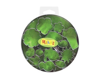 Makin's Clay Cutters (15 Pack) - Flowers & Leaves - Cookie Cutters