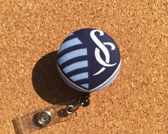 Sporting Button Badge Reel