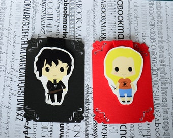 Nico Di Angelo Annabeth Percy Jackson magnetic bookmark