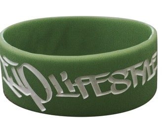 It's just a plant green wristband
