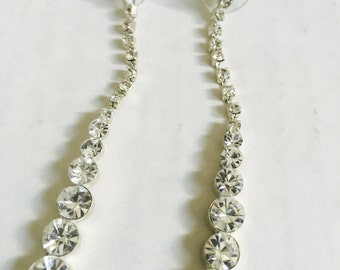 Crystal Drop Earrings Style
