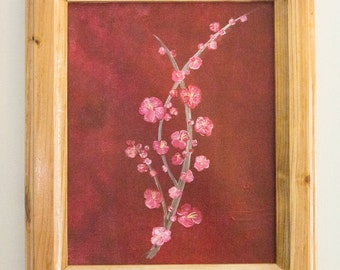Abstract painting Spring Blossom
