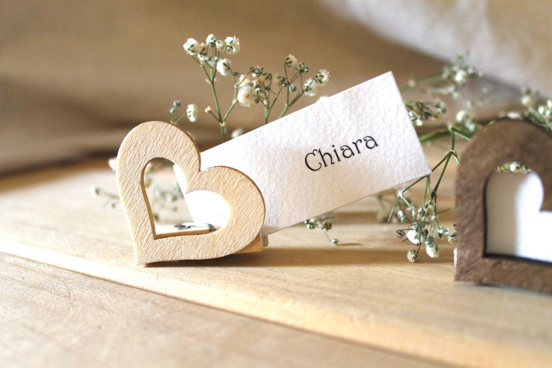 Segnaposto Matrimonio In Legno : Segnaposto matrimonio segnatavoli in legno chiudipacco rustic