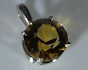 Citrine Necklace Pendant