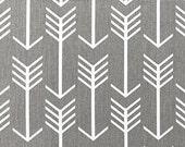 Premier Prints Arrow in Storm Gray Home Decor fabric, 1 yard