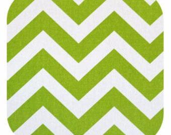 Premier Prints ZigZag Chevron in Chartreuse Home Decor fabric, 1 yard