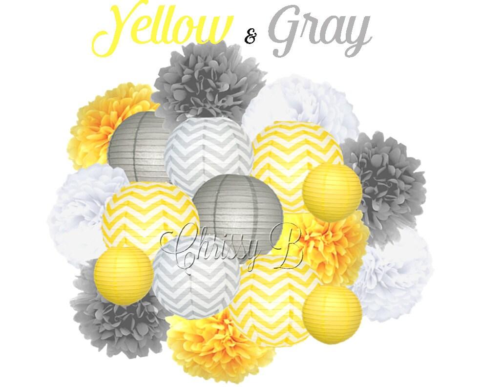 Yellow Birthday Decoration Ideas