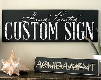 Custom Wooden Signs with Quotes Rustic Custom by