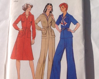 Style 1601 New Vintage Sewing Pattern Size 16 Miss