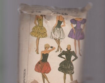 Vintage balloon Gowns