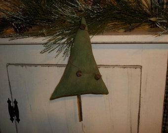 Primitive Handmade Tree Ornie or Bowl Filler ~ Christmas