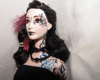 OOAK Barbie repaint (fantasy, magic)