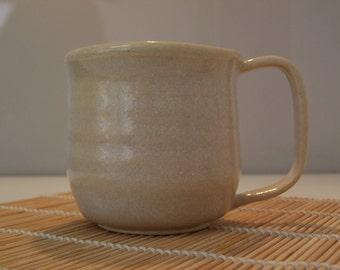Oyster glaze mug