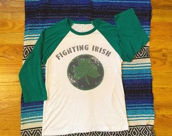 Fighting Irish 3/4 Sleeve Shirt