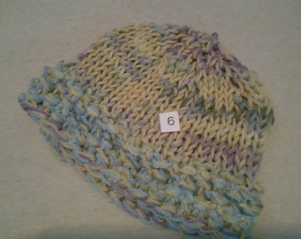 Hand made knit hats