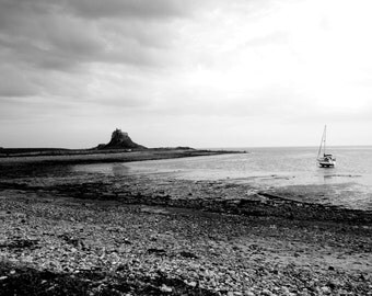 Isolation Black and White Landscape Photo Print / Mounted Wall Art / Large Print / Photography