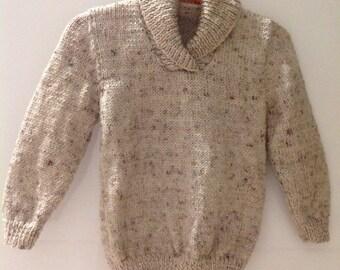Boy Size 2 Handmade Sweater