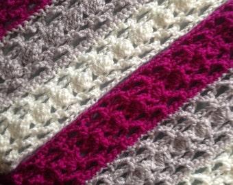 Crochet Cowl in Colour