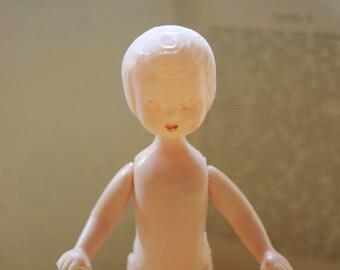 Vintage Soviet Doll/Vintage Plastic Doll/Vintage Soviet Toy/Collectible Toy/Collectibles/Souvenirs from USSR