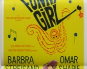 Funny Girl - Original  Australian daybill movie poster. 1968 very good condition.