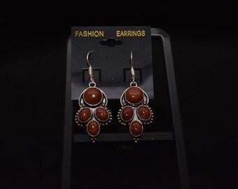 CLEARANCE *Sandstone Dangle Earrings