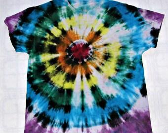 Tie Dye Bull's Eye T-Shirts Cotton Tshirt