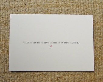 card (happiness)